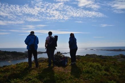 Blickar ut mot Dyrøy