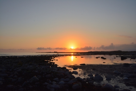 Solnedgång på Jæren