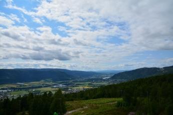 Utsikten från linbanan