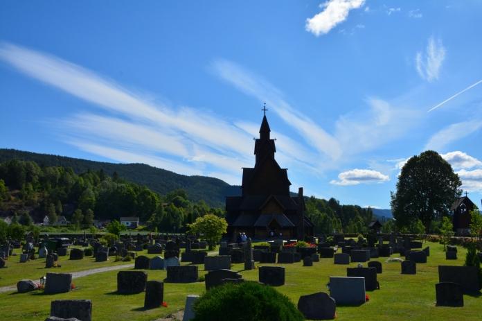 Kyrkogården Heddal