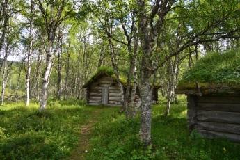 Vid gammelgården i Ljungdalen