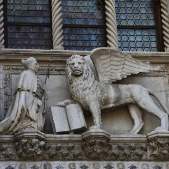 The Lion of St Mark