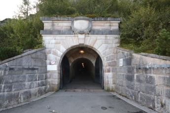 Ingång till tunneln