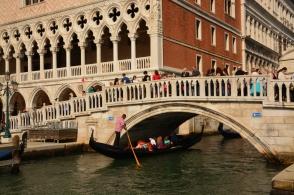 Gondol i Venedig