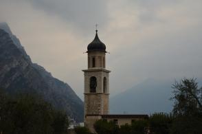 Kyrkan i Limone sul Garda