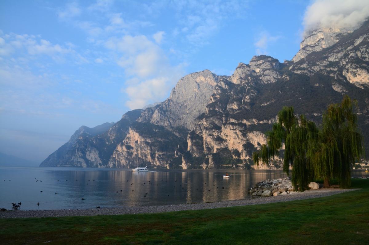 Vackra Gardasjön