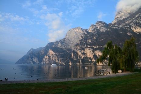 Morgon vid Gardasjön