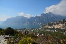 Utsikten mot Gardasjön