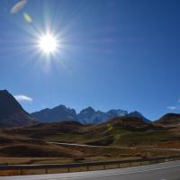 Briançon och vägen över alperna