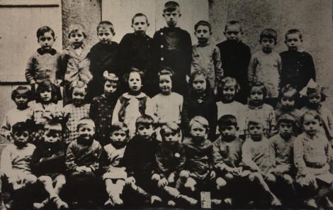 Skolbarn Oradour-sur-Glane