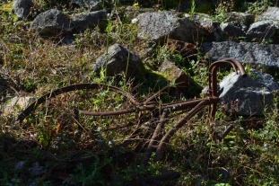 Cykel i Oradour-sur-Glane