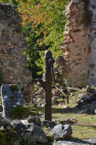 Pump i Oradour-sur-Glane
