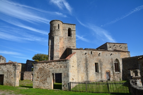 Kyrkan i Oradour-sur-Glane