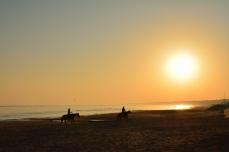 Morgon på Omaha Beach