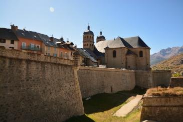 Fästningen i Briancon