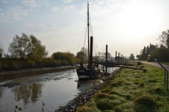Nästan torr kanal