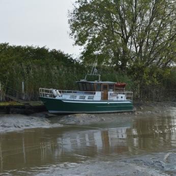 Båten Karin i lera