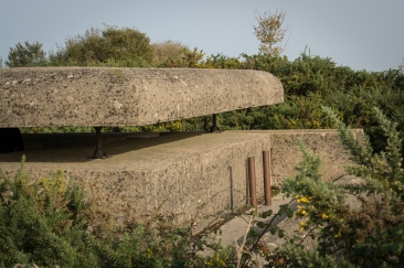 Bunker vid Gold Beach