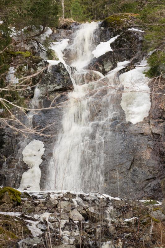 Västmanlands högsta vattenfall
