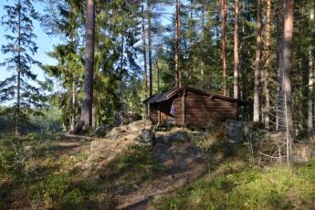 Vindskyddet vid Lilla Älgsjön