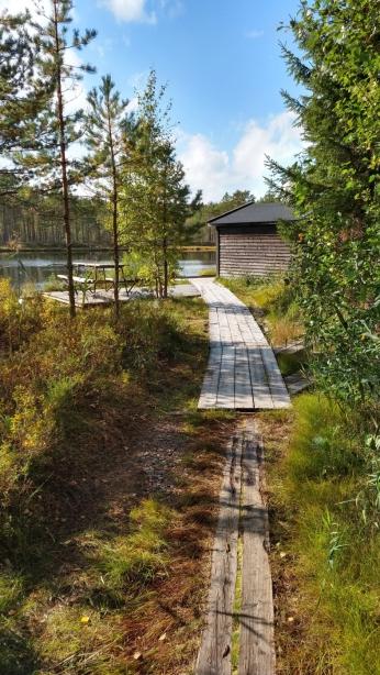 Spång till sjön Avlången