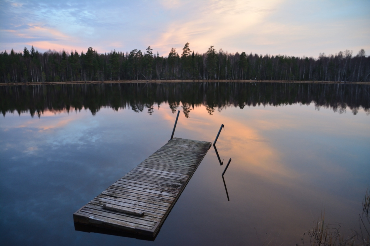 November vid Lilla Älgsjön