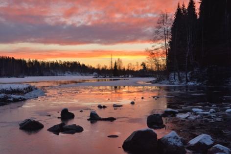 Innan soluppgången i Fagersta