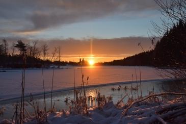 Solen går upp i Fagersta - Kratten