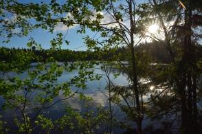 Vid kanten av den lilla sjön
