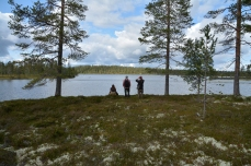 En liten sjö
