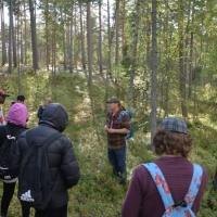 Naturguidning vid Kopängsberget