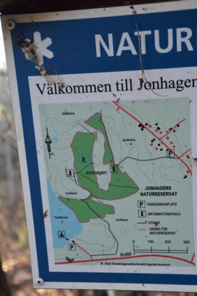 Karta över Jonhagen