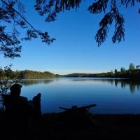 En tältnatt vid Billsjön