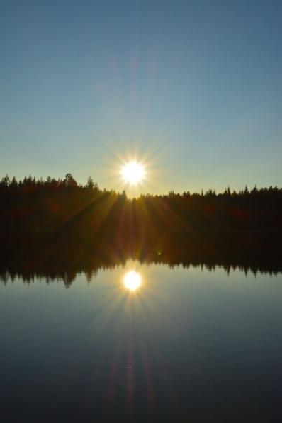 Strålande septembersol