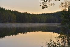 Morgonstämning vid Lilla Älgsjön